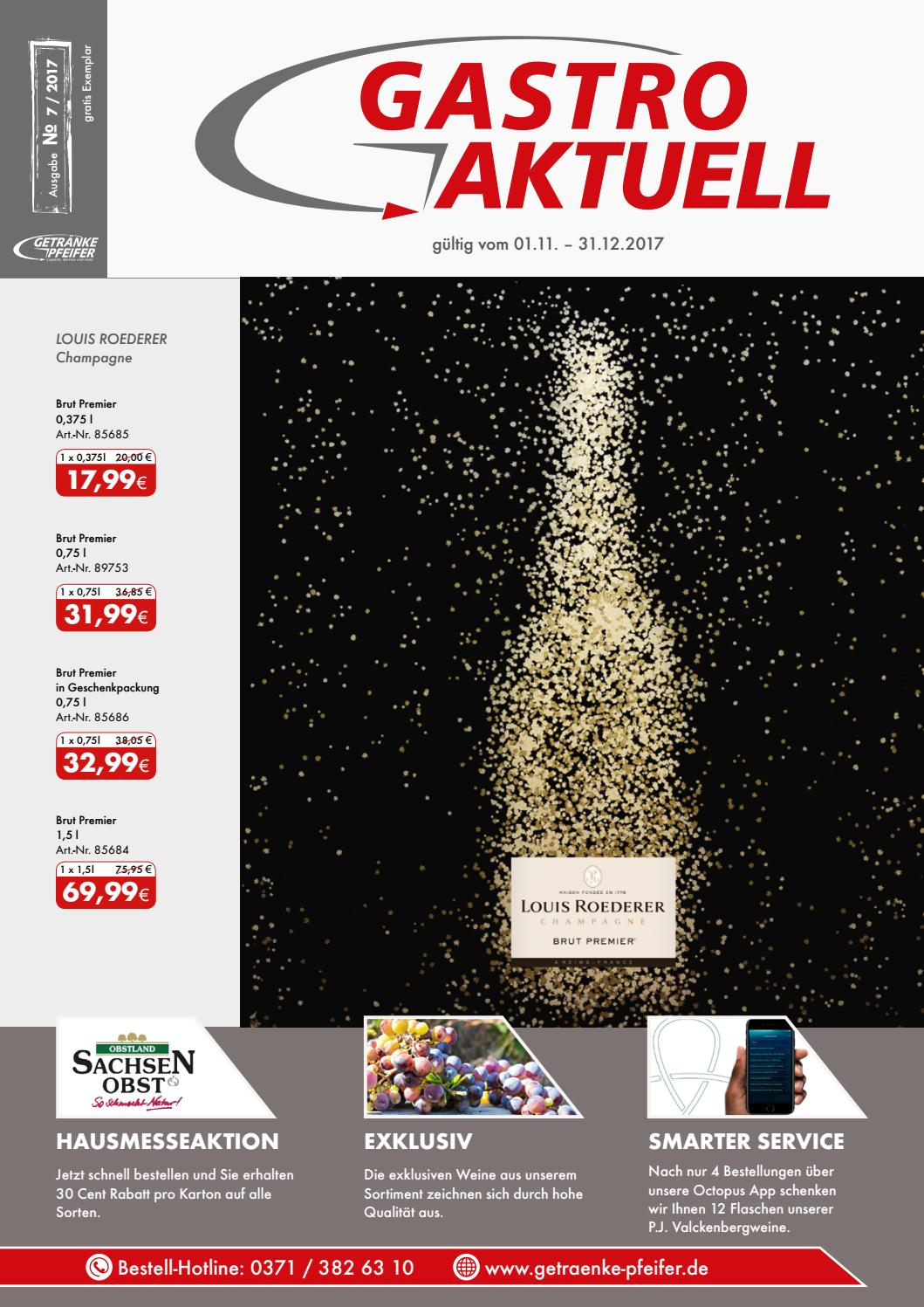 Gastro Aktuell - Ausgabe 7 / 2017 by Getränke Pfeifer GmbH - issuu