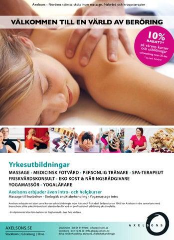 axelssons massage utbildning