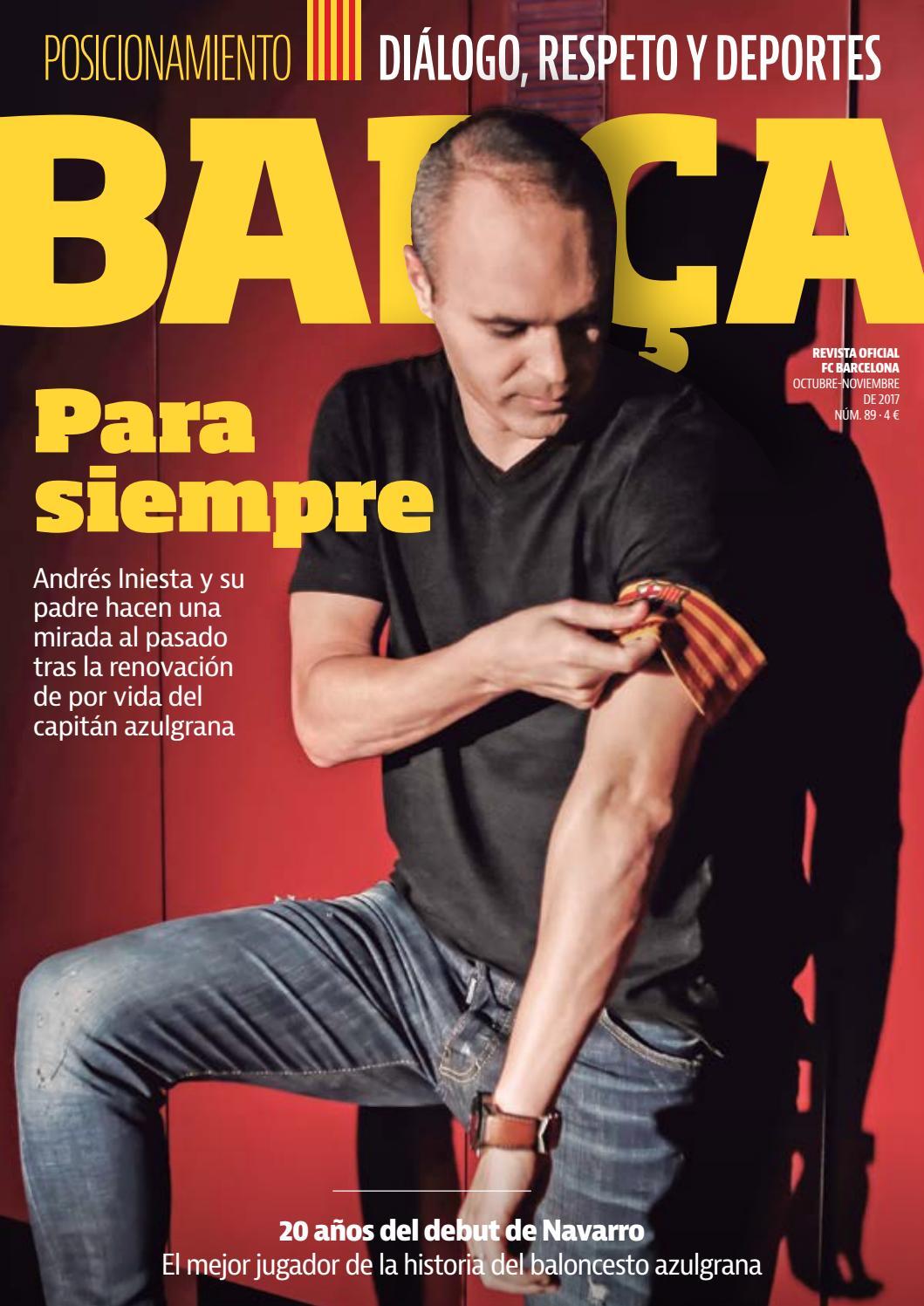 REVISTA BARÇA - Nº88 - CASTELLANO by FC Barcelona - issuu 4ef741c3f546e