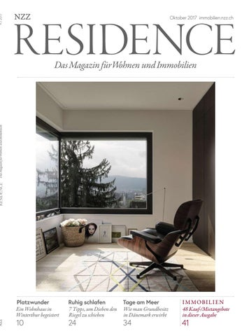 Residence Oktober 2017 By Nzz Residence Issuu