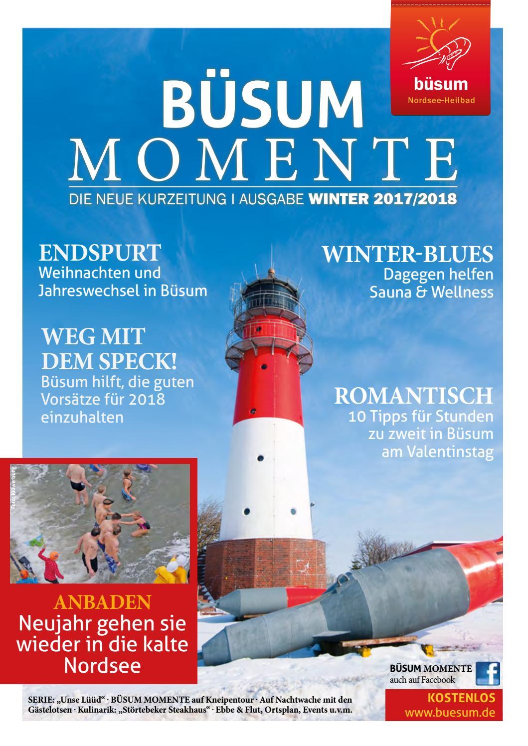 Büsum Momente Wintermagazin 20172018 By Nordsee Heilbad