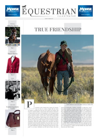 Equestrian Illustrated #3 by Milano Fashion Library - issuu