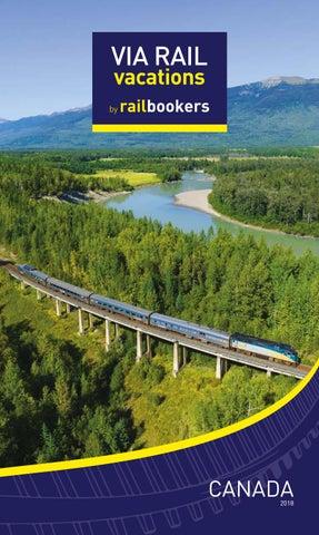 Need A Car Sudbury >> VIA Rail Vacations by Railbookers 2018 Brochure by YLG INC ...