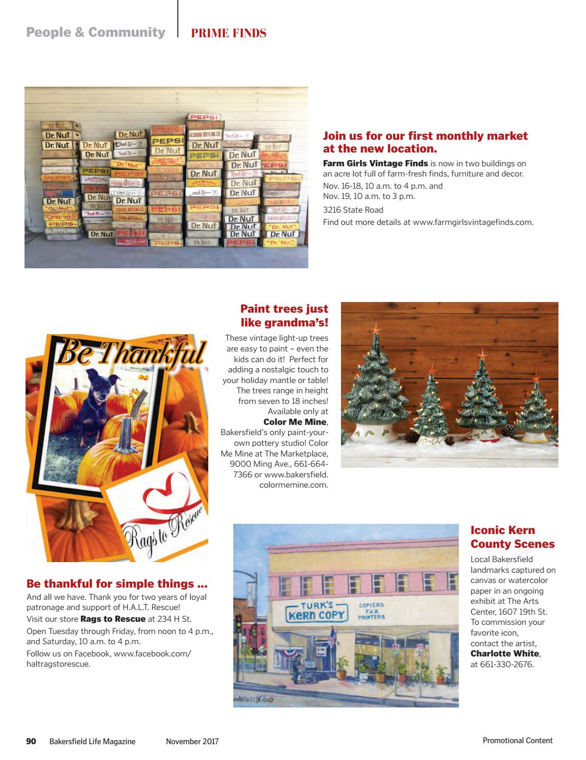 Bakersfield Life Magazine November 2017 by The Bakersfield