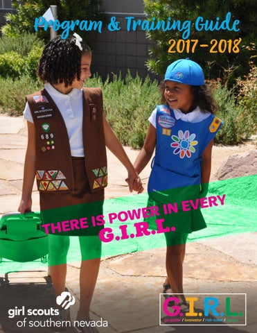 2017 2018 program and training guide by girl scouts of southern