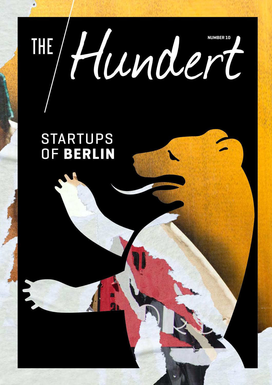 The Hundert 10 – Startups of Berlin October 2017 by NKF