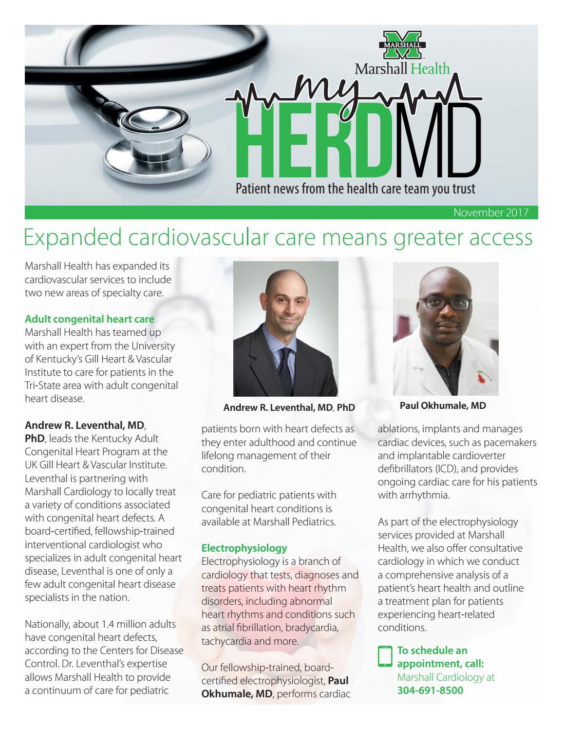 MyHerdMD - November 2017 by Marshall Health - issuu