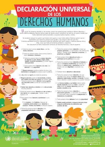 Declaración Universal de los Derechos Humanos by Oacnudh