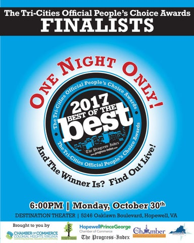 Best Of The Best Finalists 2017 By The Progress Index Issuu