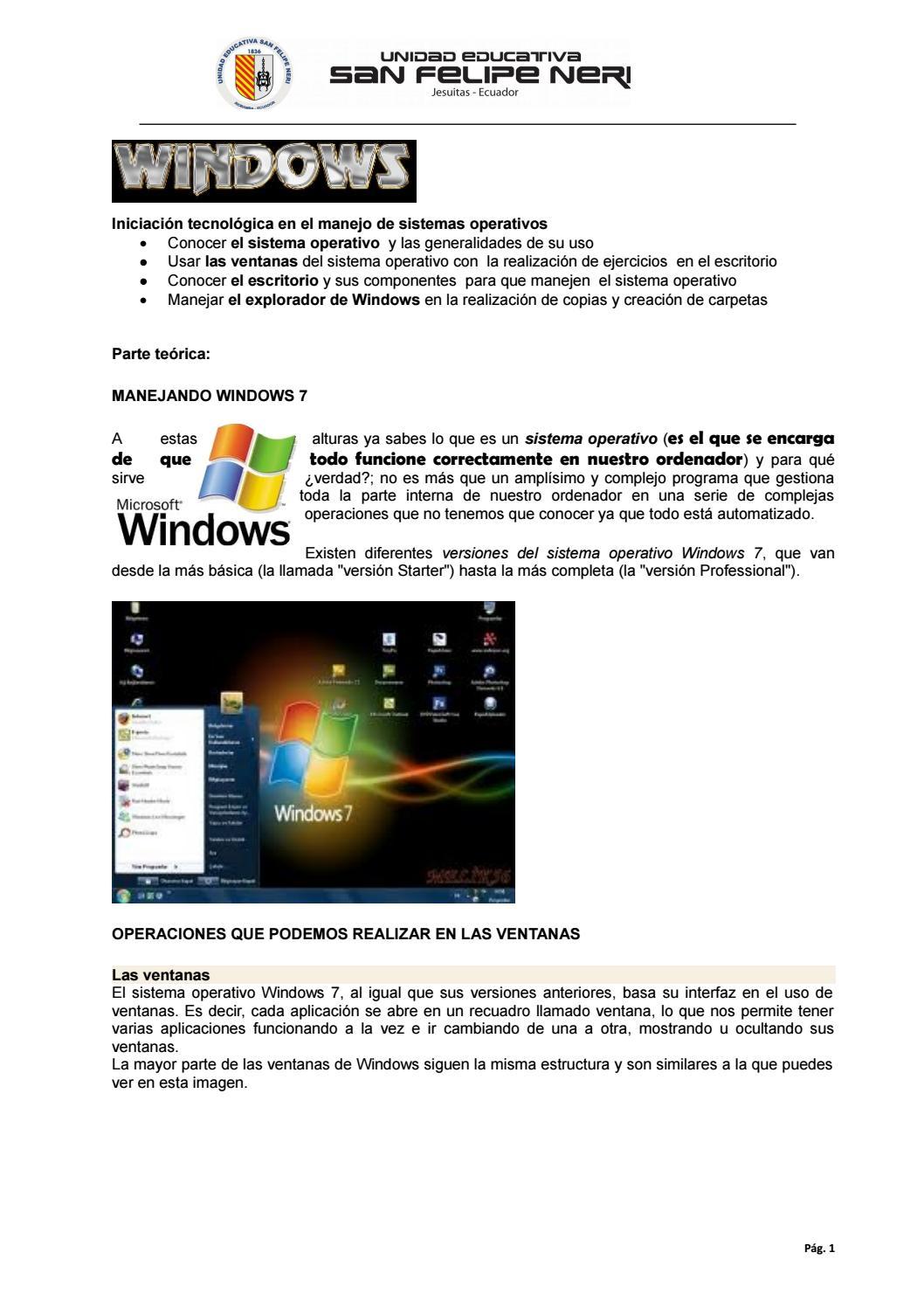 Windows by Milton Gavilanez Muñoz - issuu