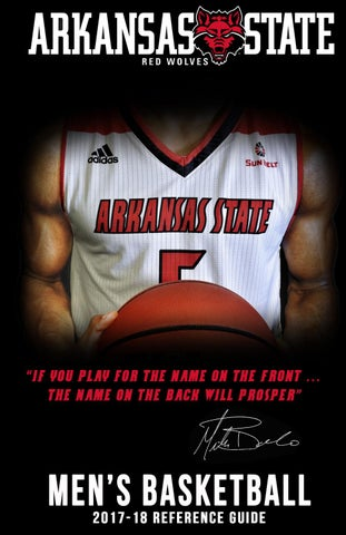 2017-18 A-State Men s Basketball Media Guide by Arkansas State ... 61bdf0e14