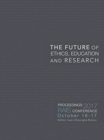 The Future Of Ethics Education And Research By Research
