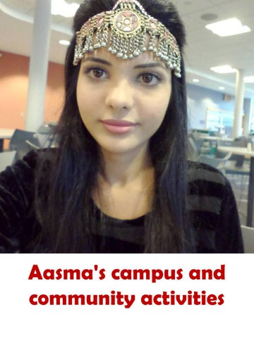 Aasma Campus Community Activities By Sahotra