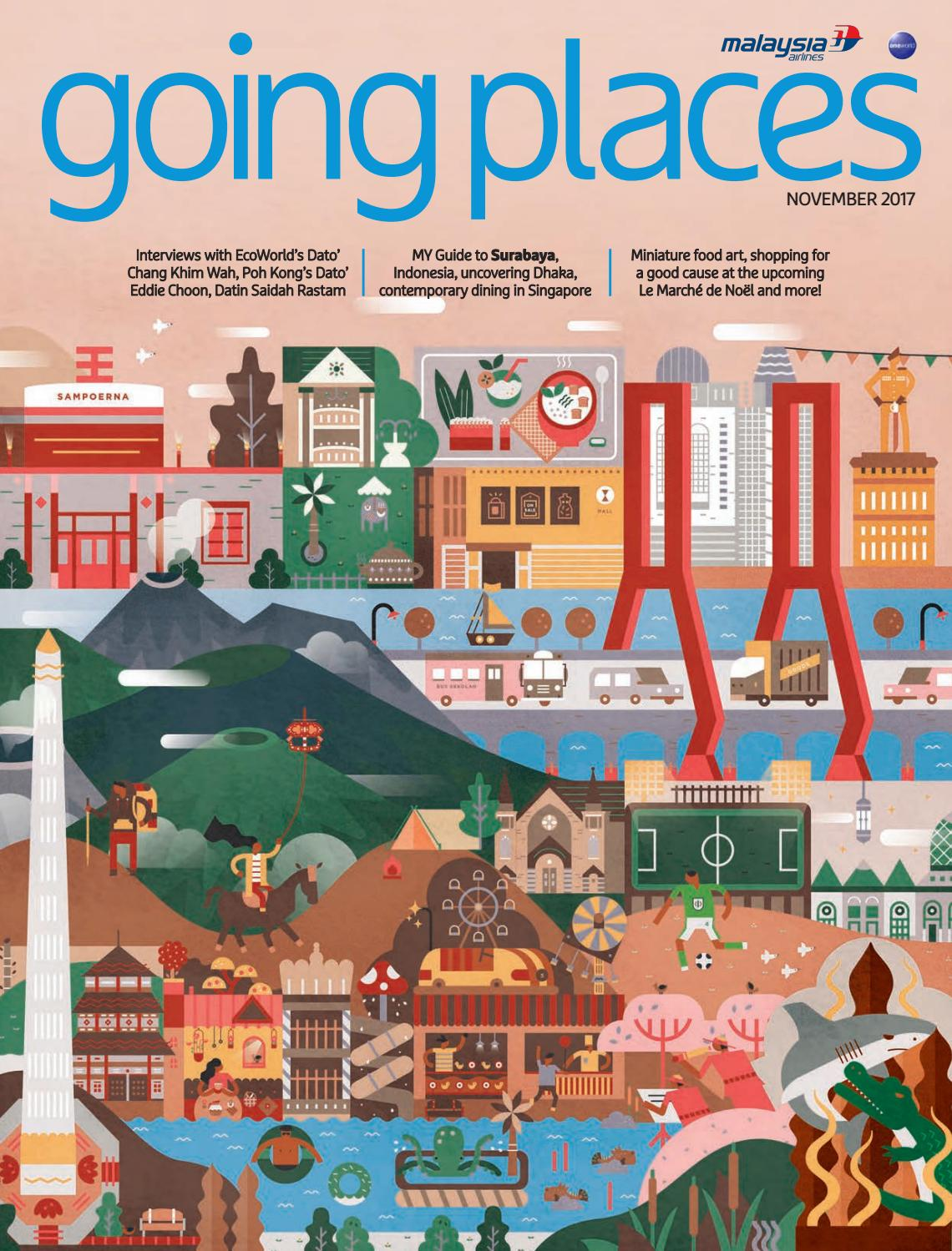Going Places November 2017 By Spafax Issuu