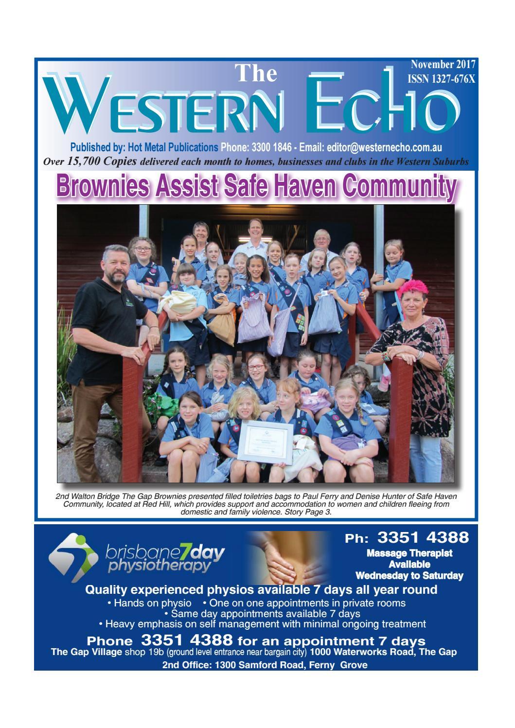 The western echo november 2017 by The Western Echo - issuu