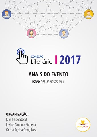Conexao Literária 2017 - Anais do Evento by Clock-t Edições e Artes ... ab1ee21458e2f
