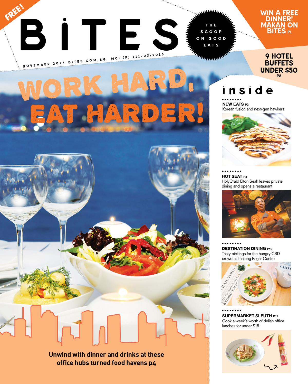 BiTES - The Scoop on Good Eats (November 2017) by BiTES - The Scoop ...