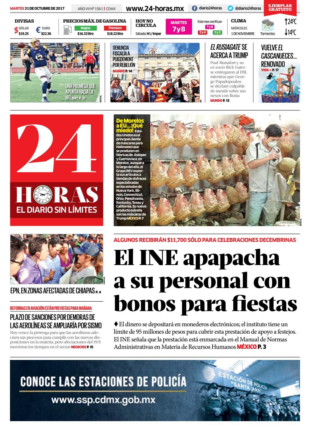 Octubre | 31 | 2017 by Información Integral 24/7 SAPI de C.V. - issuu