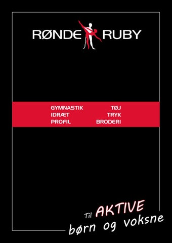 3940beaa Rønde Ruby Katalog 2017 by Rønde Ruby - issuu