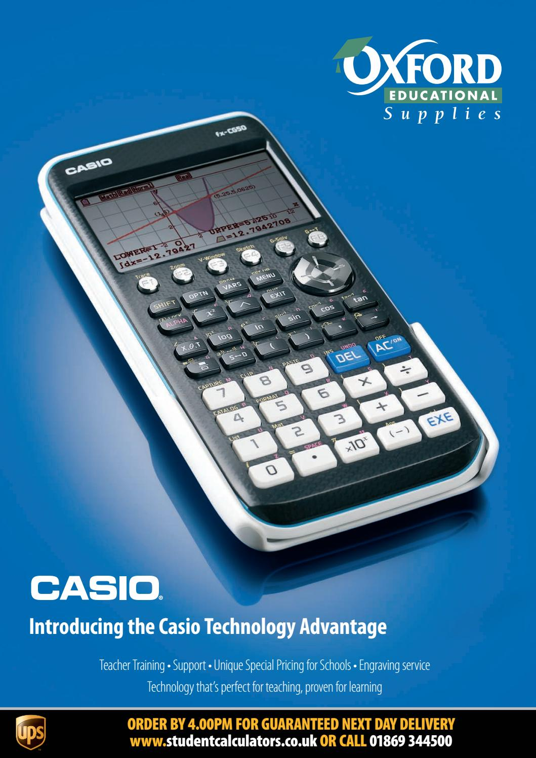 Site Up.programs Designed For The Fx9860g Series Calculators