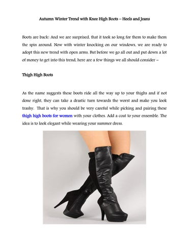 1967a5458999 Autumn Winter Trend with Knee High Boots – Heels and Jeans by ...