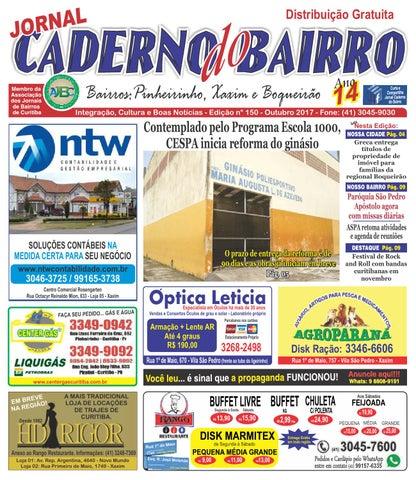 Jornal Caderno do Bairro - Circulação  xaxim, Boqueirão e ... 8d60320937