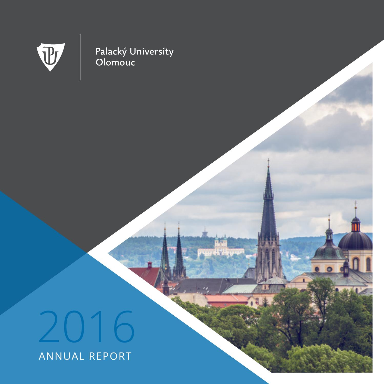 Palack½ University Annual Report 2016 by Palacky University issuu