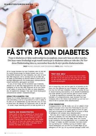 diabetes test dig selv