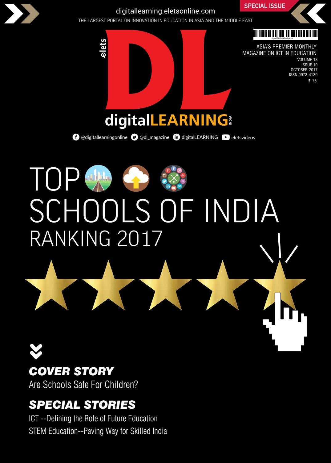 digitalLEARNING Magazine - October 2017 :: Special Issue by digital