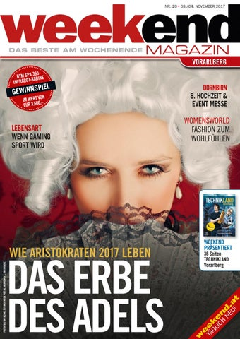 d633f8d82f44bb Weekend Magazin Vorarlberg 2017 KW 44 by Weekend Magazin Vorarlberg ...