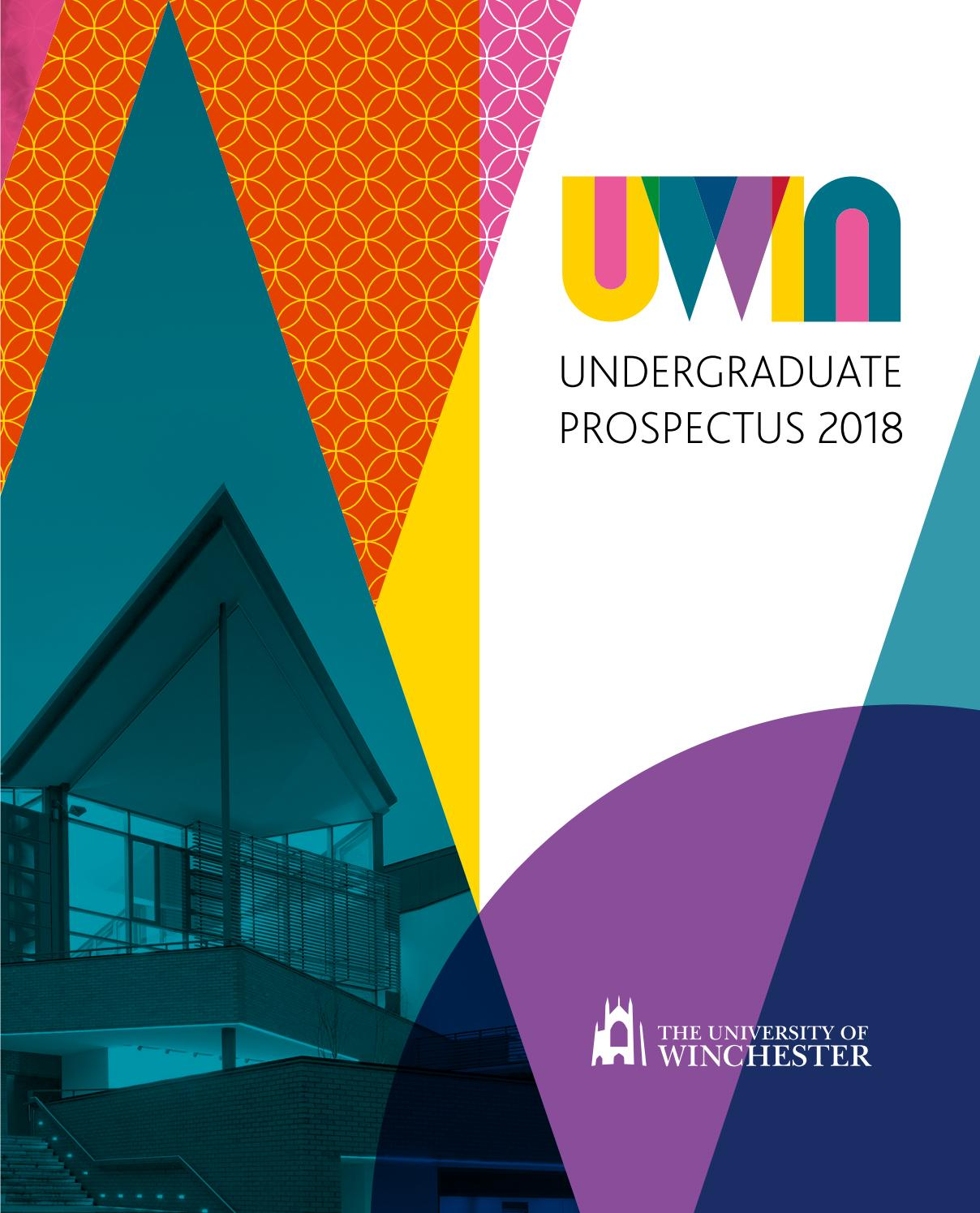 Undergraduate 2018 prospectus by the university of winchester issuu fandeluxe