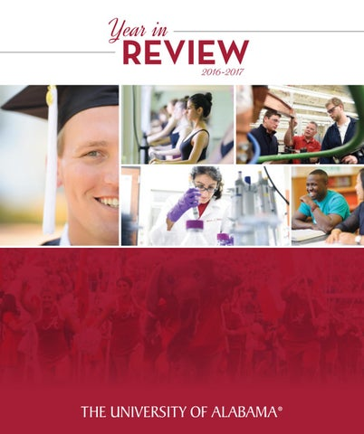Year In Review 2016-2017 by The University of Alabama - issuu f91a31c191da