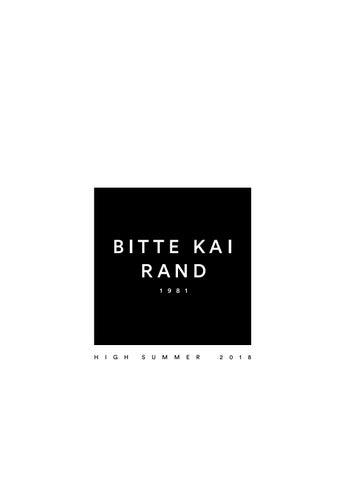 BITTE KAI RAND  Spring   Summer 2018 - Lookbook by Bitte Kai Rand ... 8494c28294f