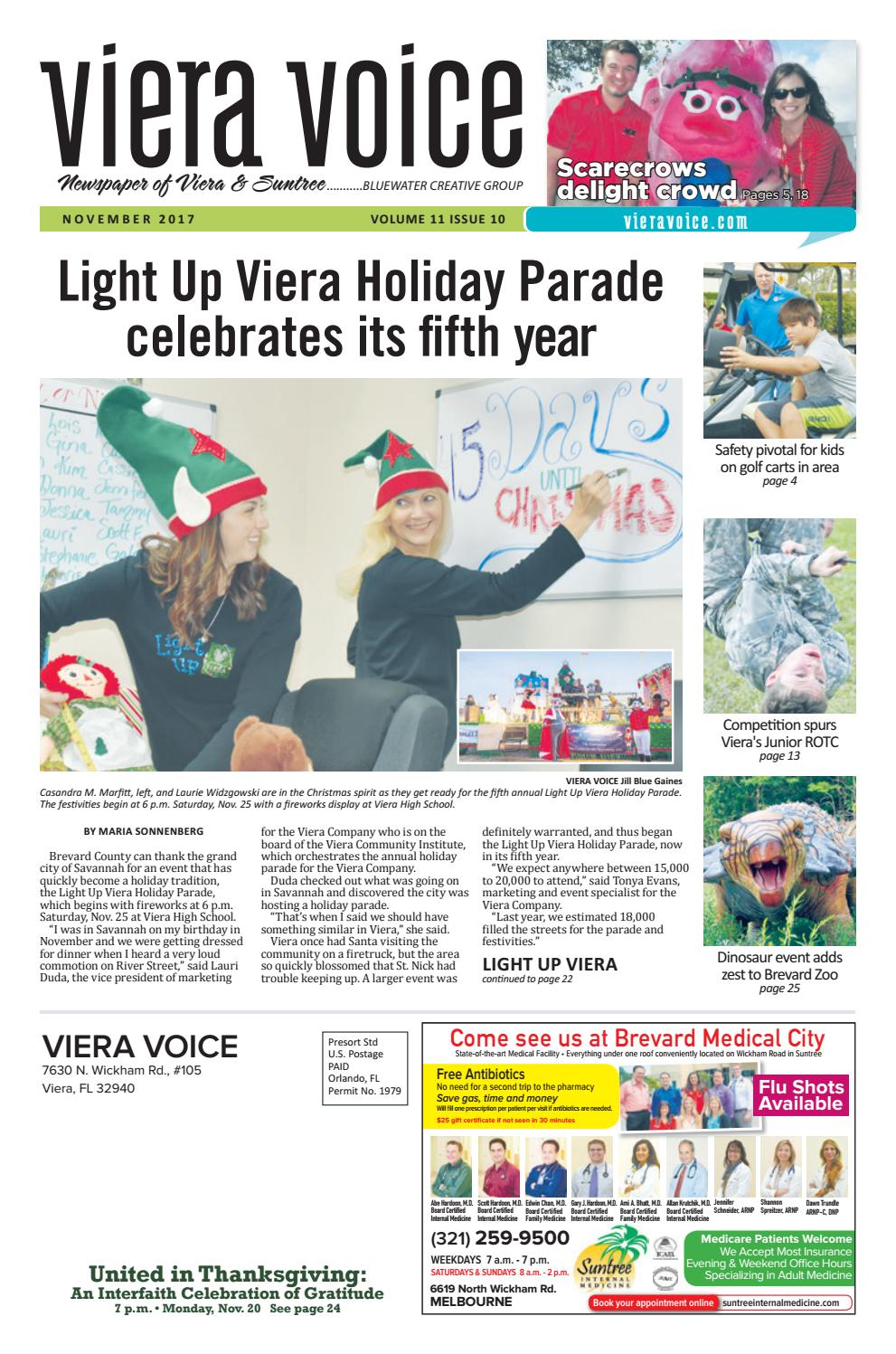 cdbfc4774fb Viera Voice November 2017 by Jill Gaines - issuu