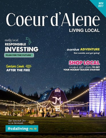 November 2017 Coeurd'Alene Living Local by Living Local 360