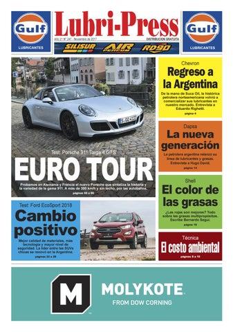 4db1e701c0 LUBRI-PRESS 247 - Noviembre 2017 by Autopress Ediciones - issuu
