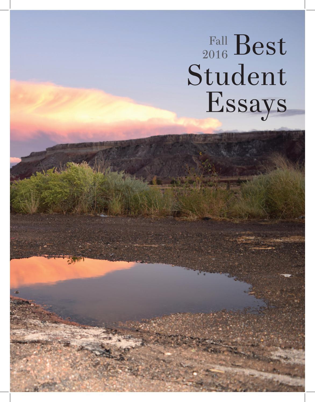 Best student essays