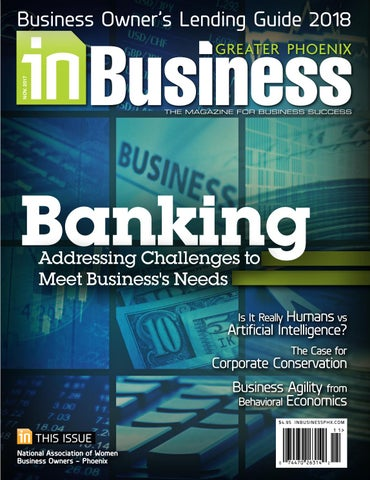 November 2017 issue of In Business Magazine by InMedia - issuu