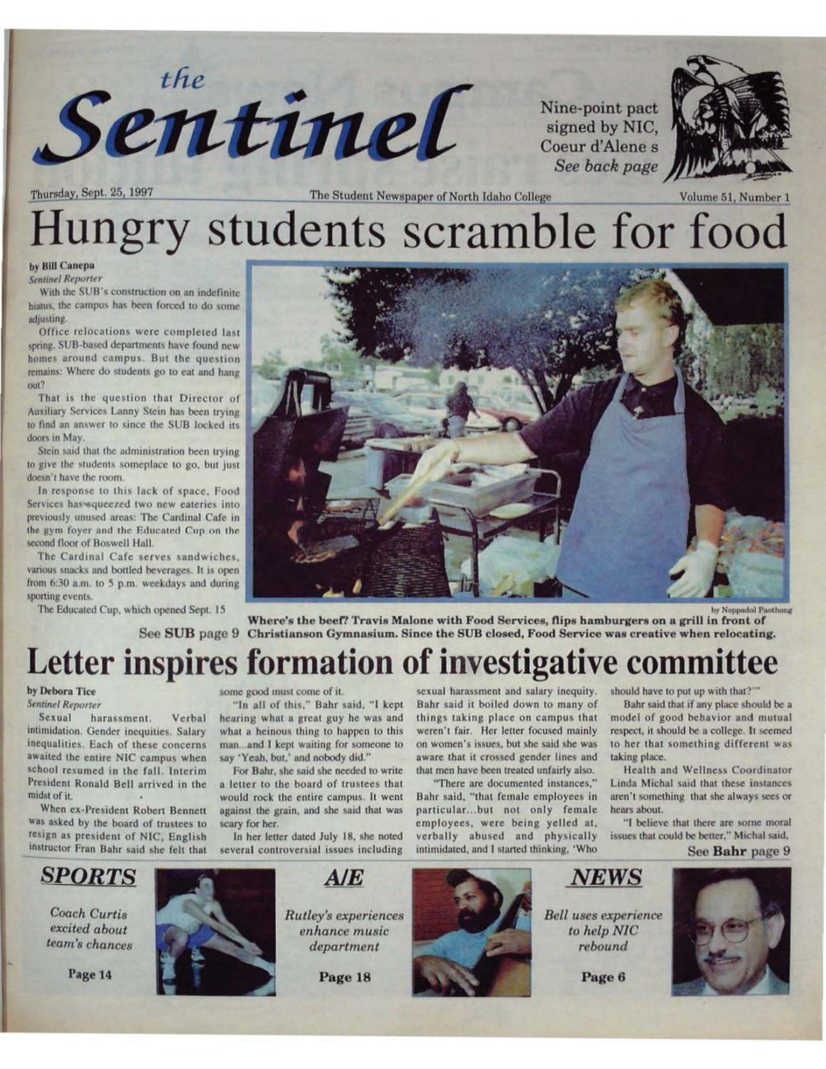 The North Idaho College Sentinel Vol 51