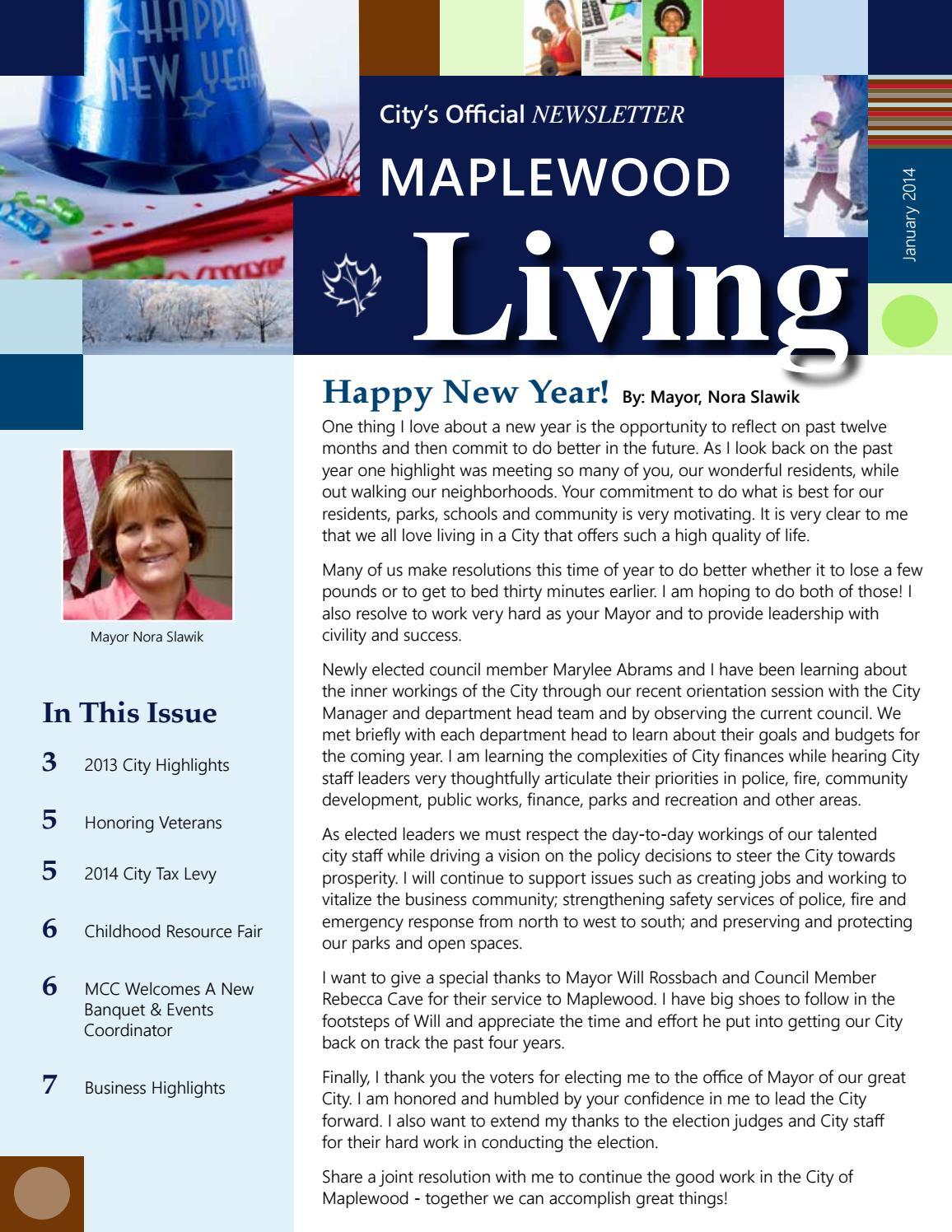 2014 by Maplewood - issuu