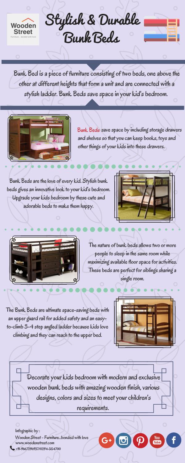 Buy Bunk Beds For Kids Online Wooden Street By Wooden Street Issuu