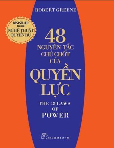 Kết quả hình ảnh cho 19. The 48 laws of power (48 nguyên tắc chủ chốt của quyền lực - Robert Greene) Chủ đề: Kinh doanh, quản trị và lãnh đạo