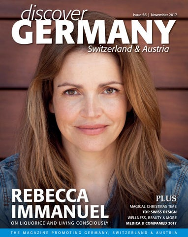 Discover Germany, Issue 56, November 2017 by Scan Group - issuu