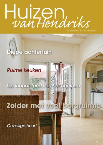 Amersfoort, Kruiskamp 92 by Hendriks Makelaardij - meer makelaar ...