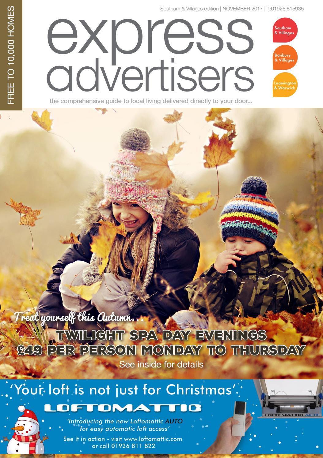 Express Advertisers Southam & Villages November 2017