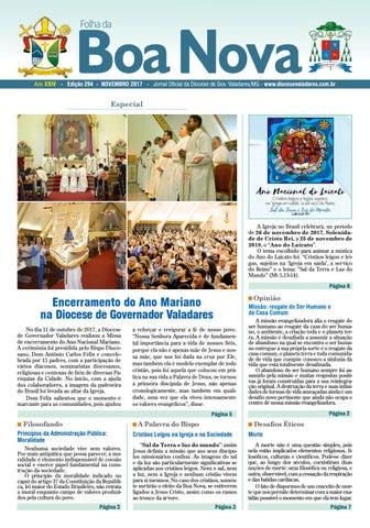 8b12e357a000 Folha da Boa Nova Edição Novembro 2017 by Dicoese de Governador ...