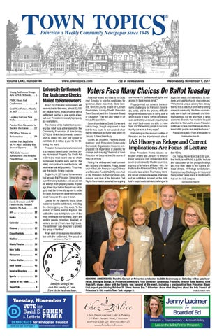 Town Topics Newspaper November 1 2017 By Witherspoon Media Group