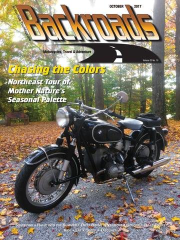 f223fb72e0 October 2017 by Backroads Magazine - issuu