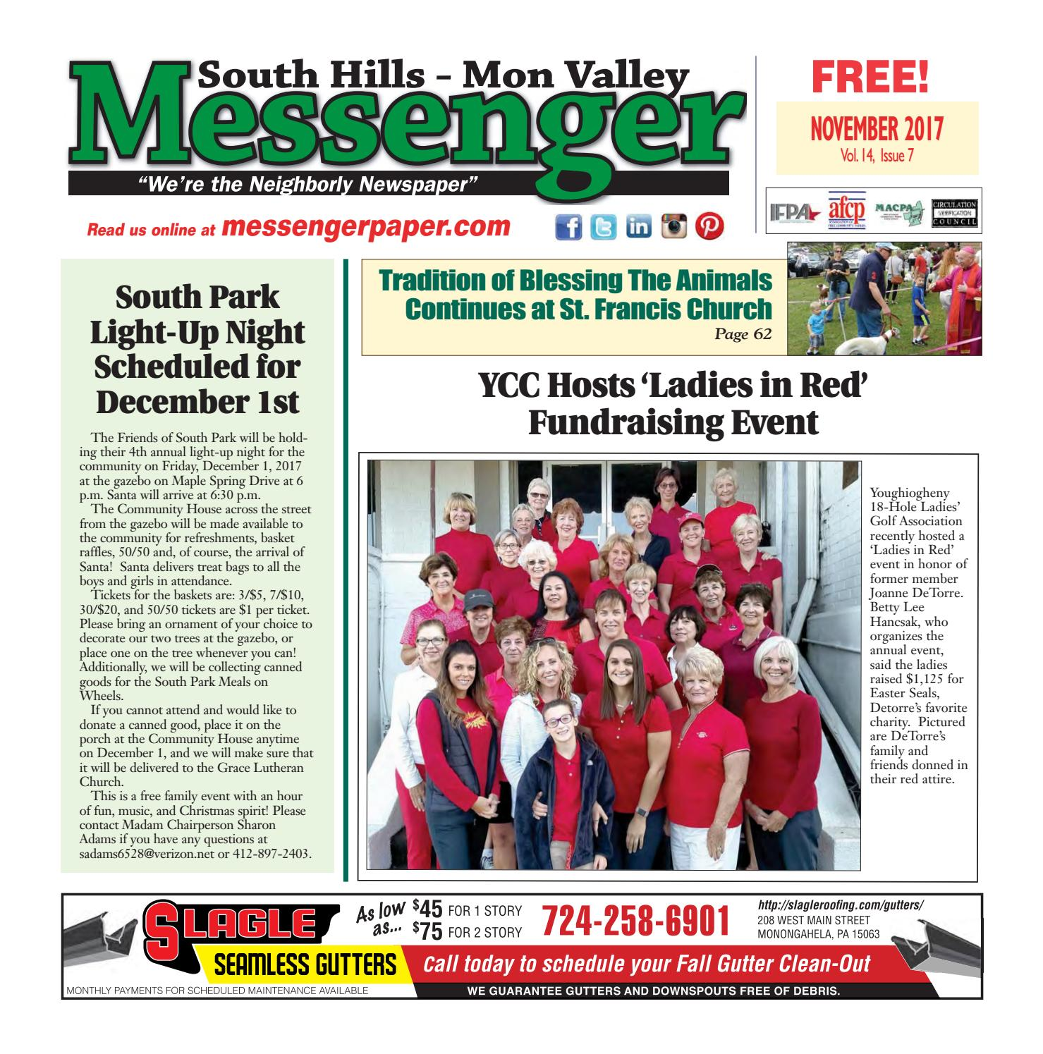 91596cee1 South Hills Mon Valley Messenger November 2017 by South Hills Mon Valley  Messenger - issuu