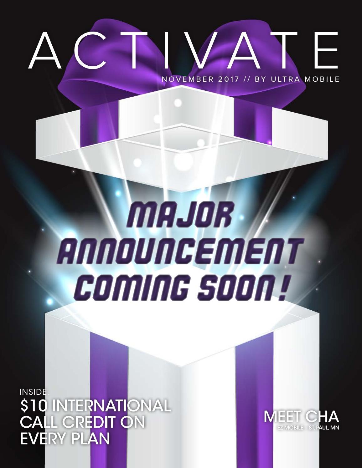 Ultra Activate Magazine 11 17 By Retailer Newsletter Issuu